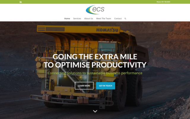 ENERGY AND COMBUSTION SERVICES TECHNOLOGY SOLUTIONS DEVELOPMENT – ECS