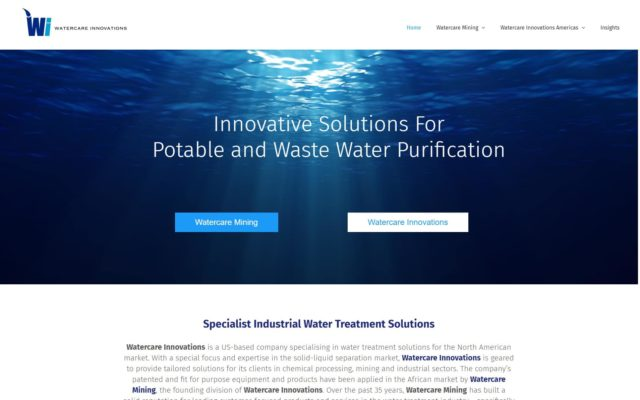 Watercare Innovations