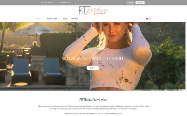 Fittletics active wear